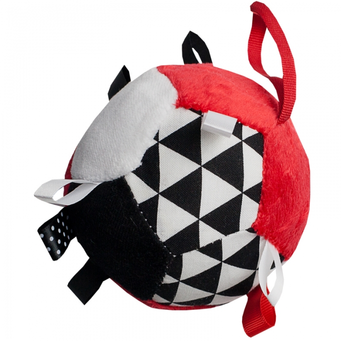 Plyšový barevný balónek - červený