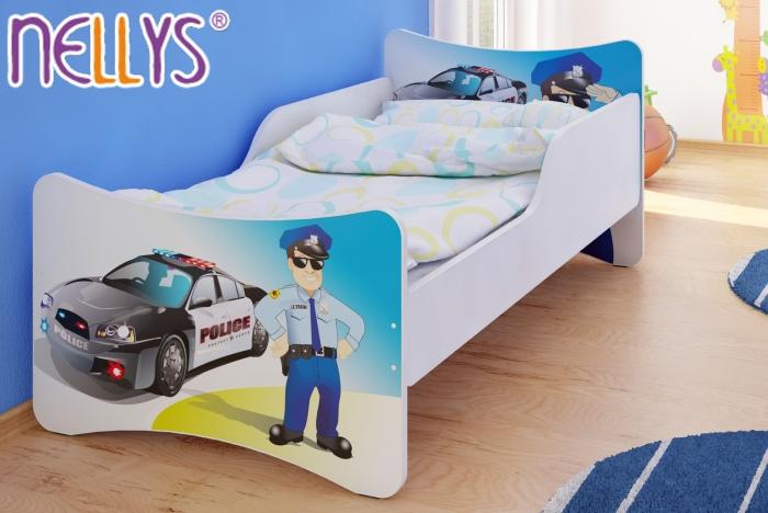 Dětská postel se zábranou Police
