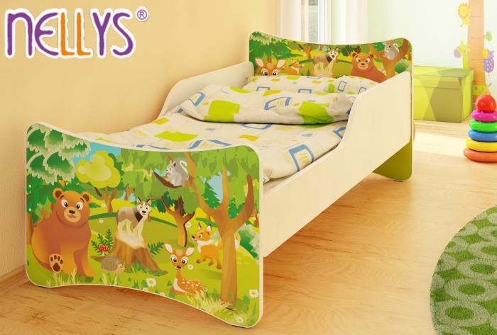 Dětská postel Zvířátka z lesa