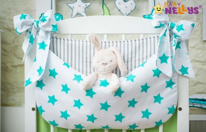 Kapsář nejen na hračky STARS be LOVE - č. 4 a 6