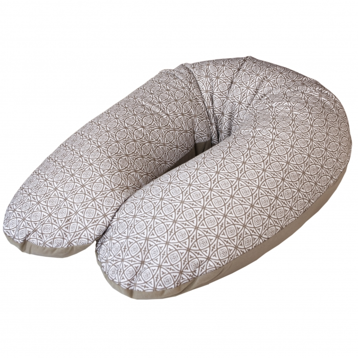 Kojící polštář - relaxační poduška Cebuška JERSEY - Ornament