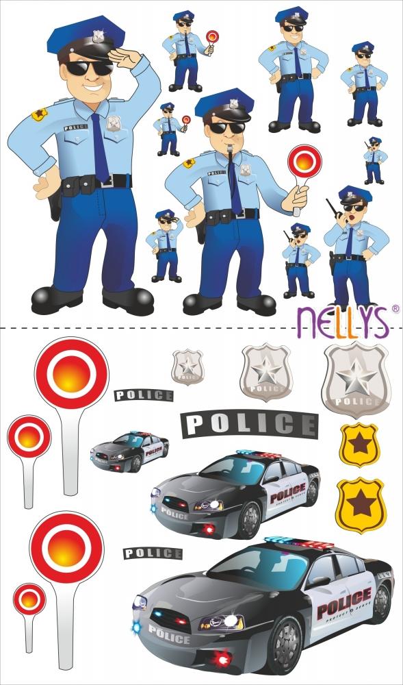 Nástěnná dekorace - POLICE