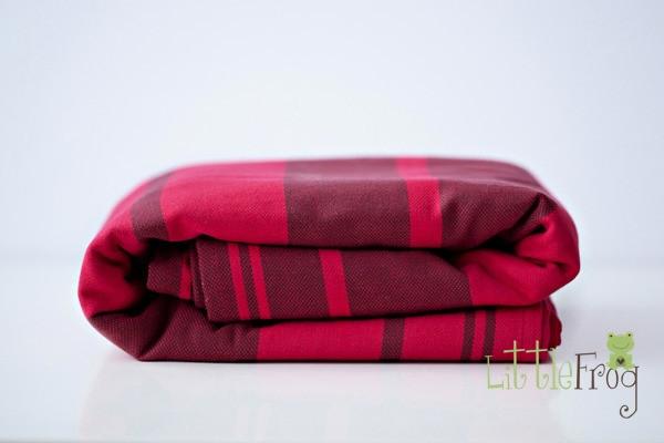 Little FROG Tkaný šátek na nošení dětí - Pyrope