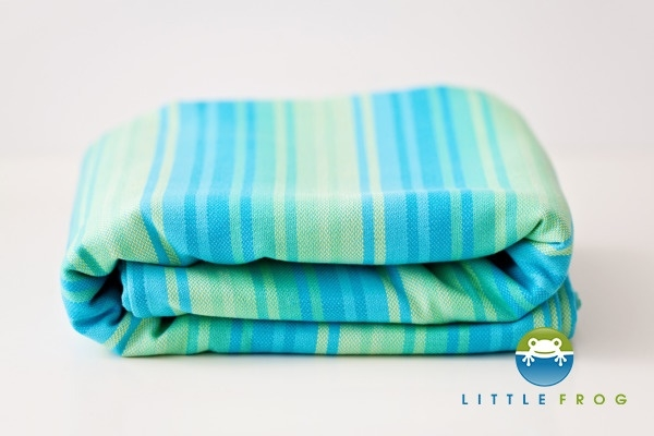 Little FROG Tkaný šátek na nošení dětí - Awenturyn