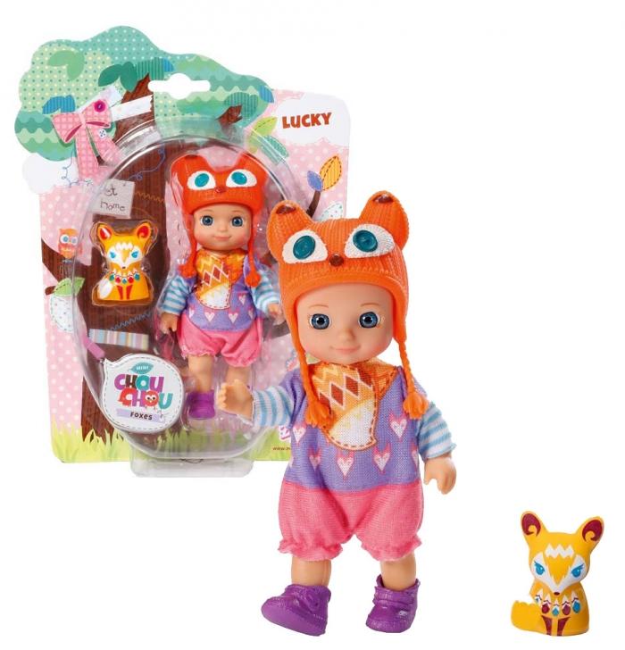 CHOU CHOU panenka mini Lištičky - LUCKY