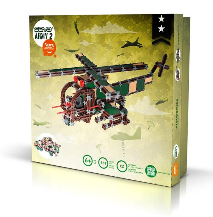 Stavebnice seva - ARMY 2