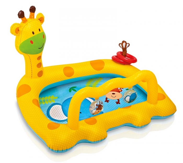 Nafukovací bazén žirafa, 112 x 92 x 72 cm