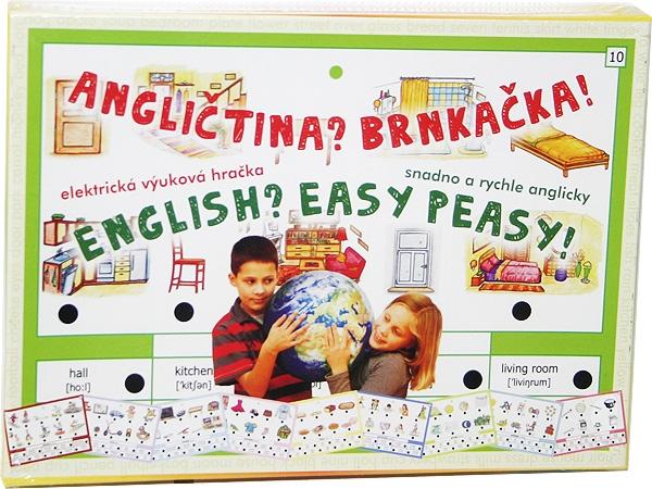 Hra Angličtina brnkačka