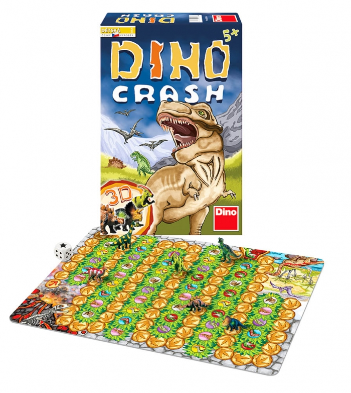 Hra Dino Crash