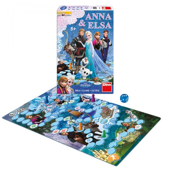 Hra Anna & Elsa FROZEN - Ledové království