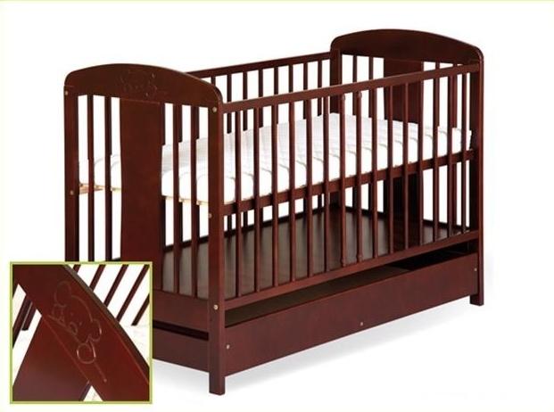 Dětská postel Radek VIII s motívem medvídka + šuplík