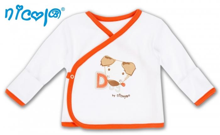 Novorozenecká košilka Pejsek, vel. 68