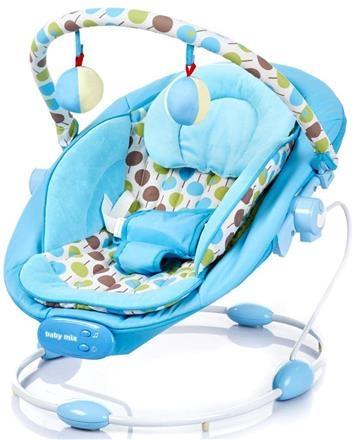 BABY MIX Lehátko pro kojence s vibrací a hudbou