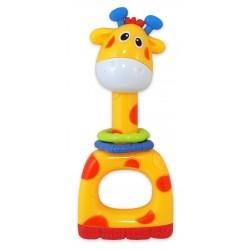 BABY MIX Chrastítko - Žirafa