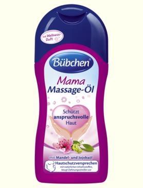 Bübchen Mama Masažní olej 200 ml