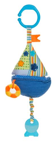 Závěsná hračka se zvukem vody - Lodička
