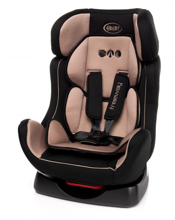 Autosedačka 4 BABY FREEWAY 0-25 kg - béžová