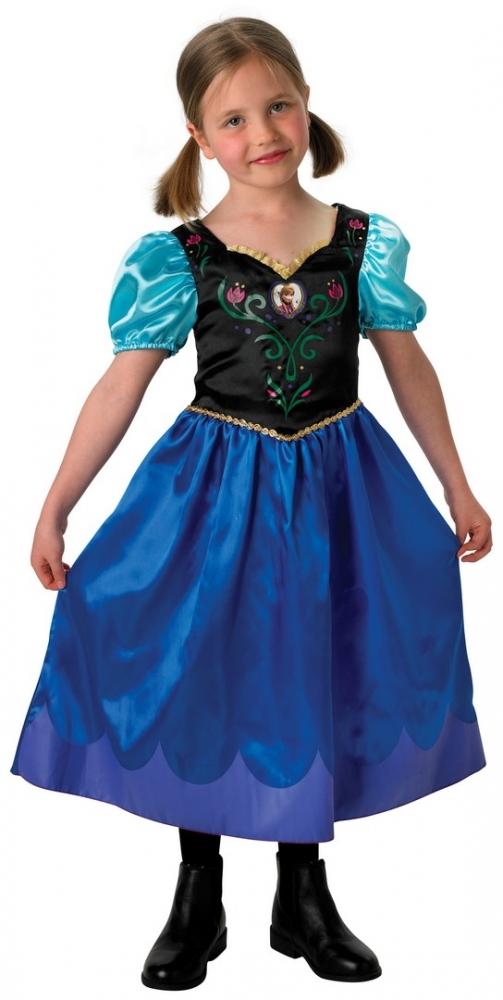 Karnevalový kostým FROZEN - Ledové království ANNA, 7-8 let