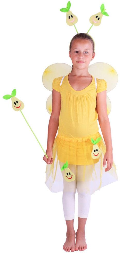 Karnevalový kostým hruška s křídly