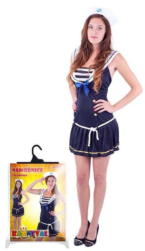 Karnevalový kostým slečna námořnice pro dospělé, vel. M