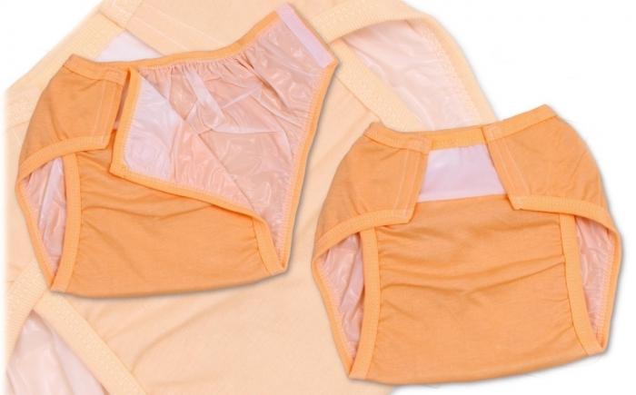 Plenkové kalhotky TERJAN - meruňková