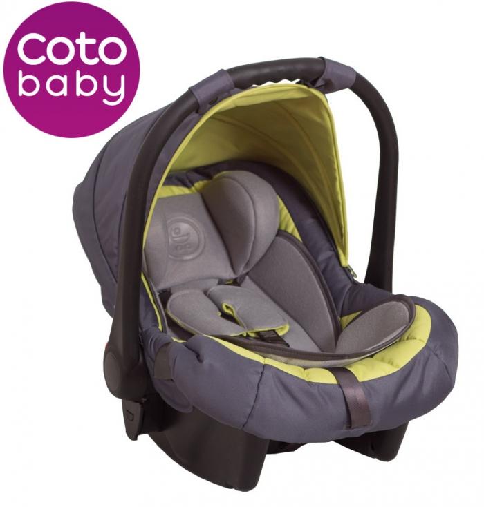 Autosedačka 0 - 13kg Coto Baby Latina - zelená