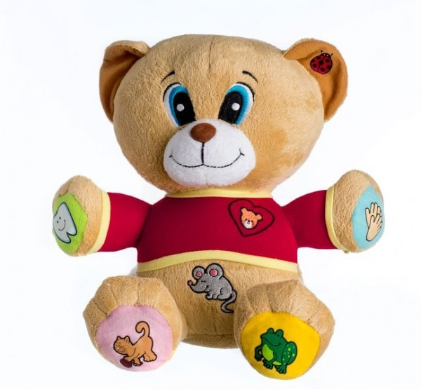 Veselý medvídek TEDÍK - mluvící česky