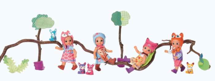 CHOU CHOU panenka mini Lištičky, 4 dr.