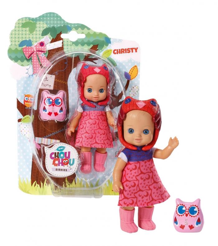 CHOU CHOU panenka mini Sovičky - CHRISTY
