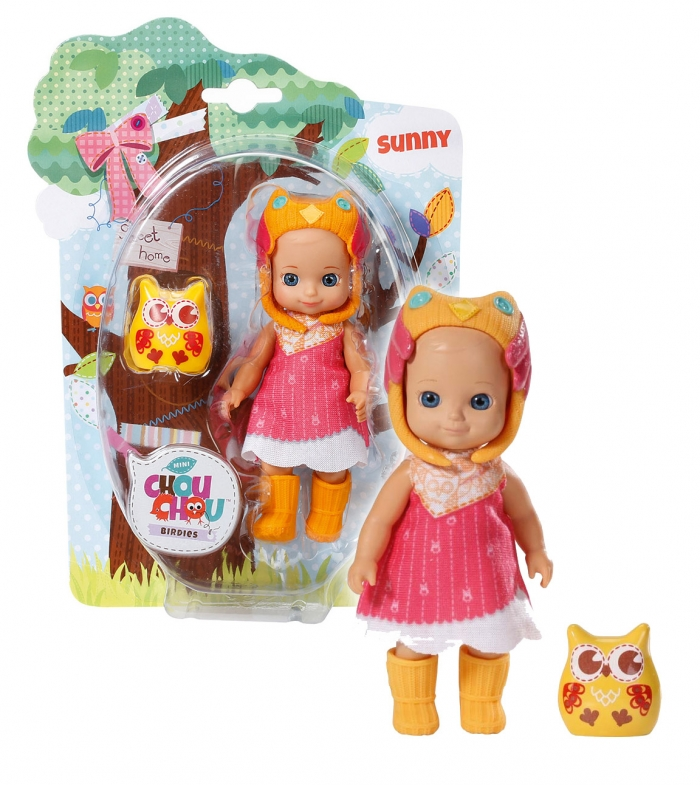 CHOU CHOU panenka mini Sovičky - SUNNY
