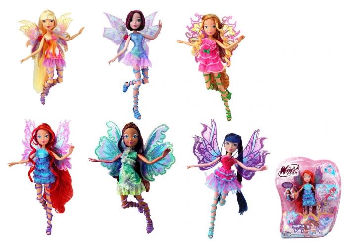 Panenka WinX Mythix Fairy, 3 druhy