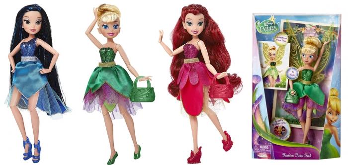 Panenka Disney Fairies,DELUXE,22 cm 2 dr