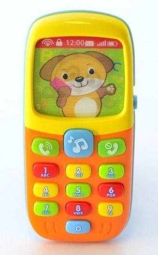 Interaktivní hračka s melodii - Mobil Smart
