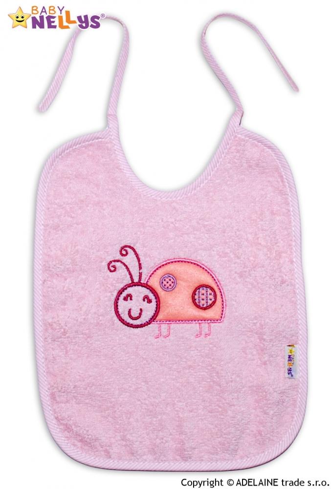 Bryndáček BERUŠKA Baby Nellys ® - sv. růžová