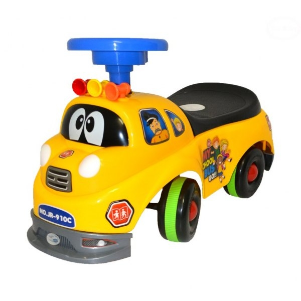 Odstrkovadlo,odrážedlo, jezdítko - HASIČ - žlutý