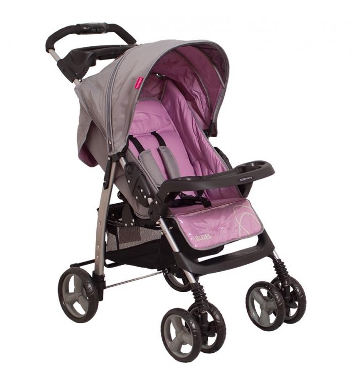 Coto Baby Sportovní kočárek Blues - šedá/purple