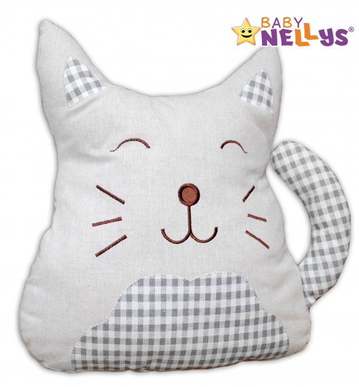 Mazlík, polštářek Kočička - velká