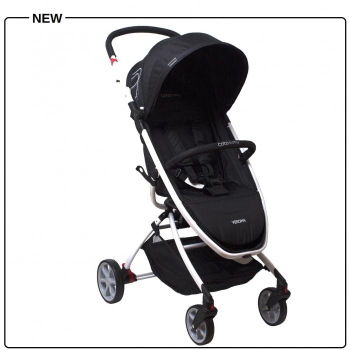 Coto Baby Kočárek VERONA - černá/black