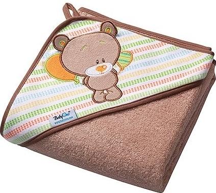Luxusní froté osuška s kapucí Baby Ono - Medvídek