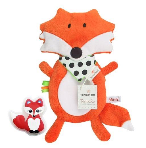 Nahřívací plyšová hračka Liška s gelem