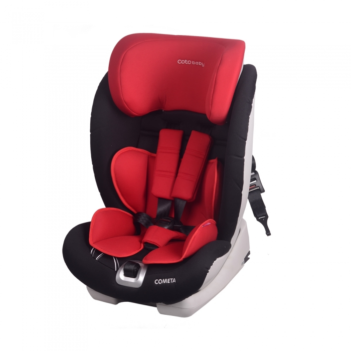 Autosedačka COMETA Isofix - 9-36 kg - Červená