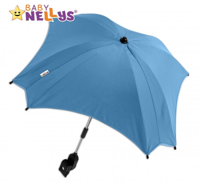 Slunečník, deštník do kočárku Baby Nellys ® - modrý