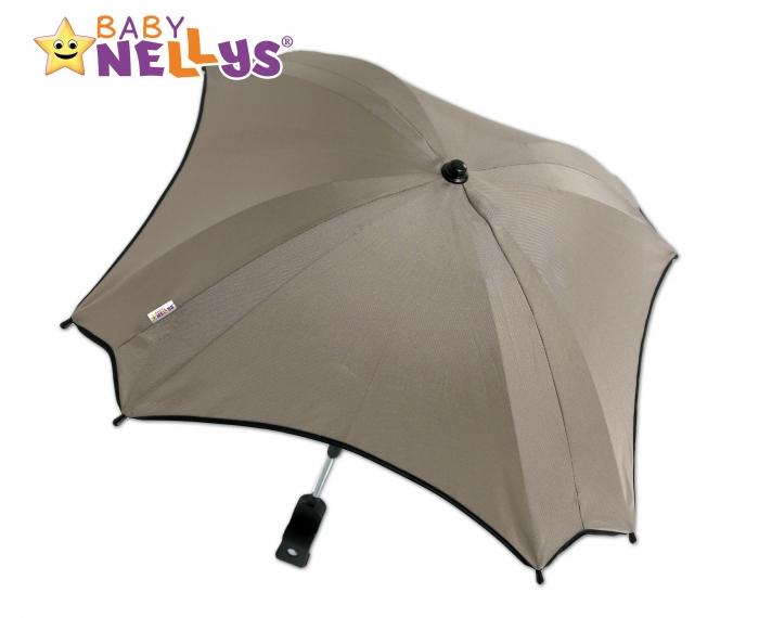 Slunečník, deštník do kočárku Baby Nellys ® - béžový