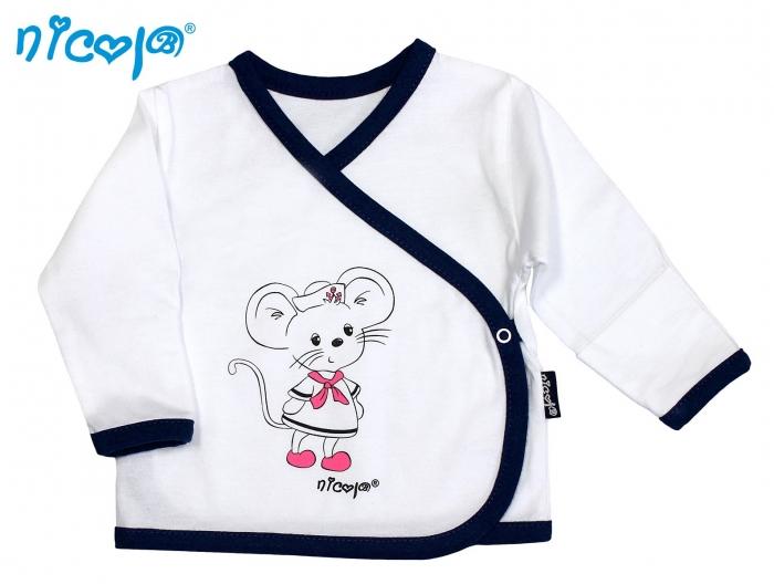 Novorozenecká košilka NICOL Myška Námořník