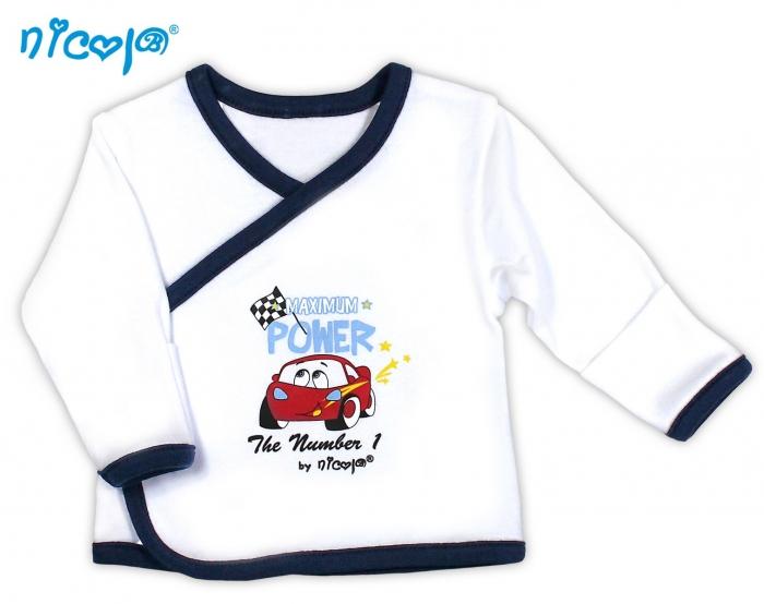 Novorozenecká košilka NICOL Legrační autíčko