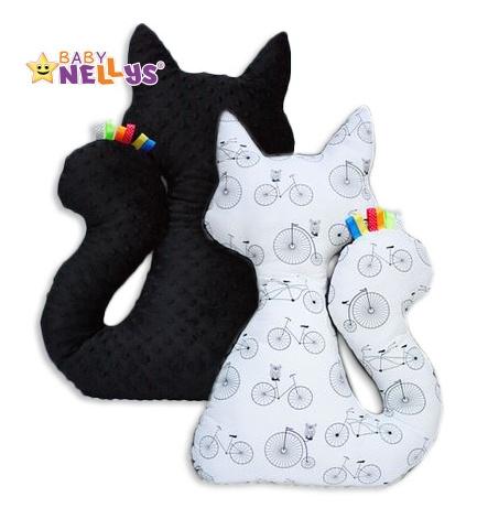 Edukační hračka KOČKA s minky Baby Nellys ® - kola