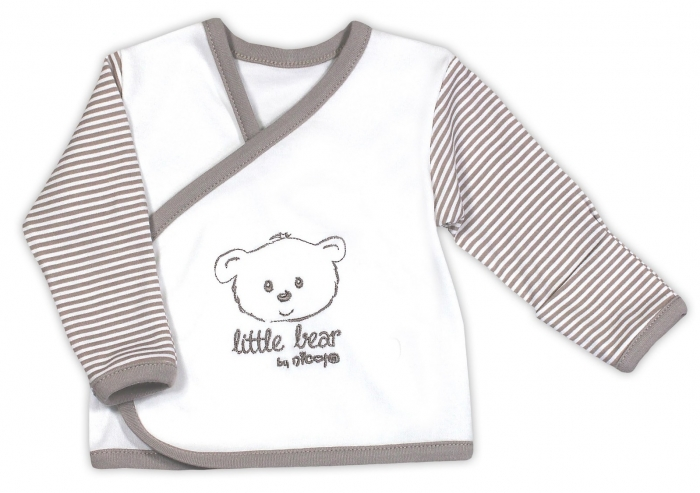 Novorozenecká košilka NICOL Malý medvídek