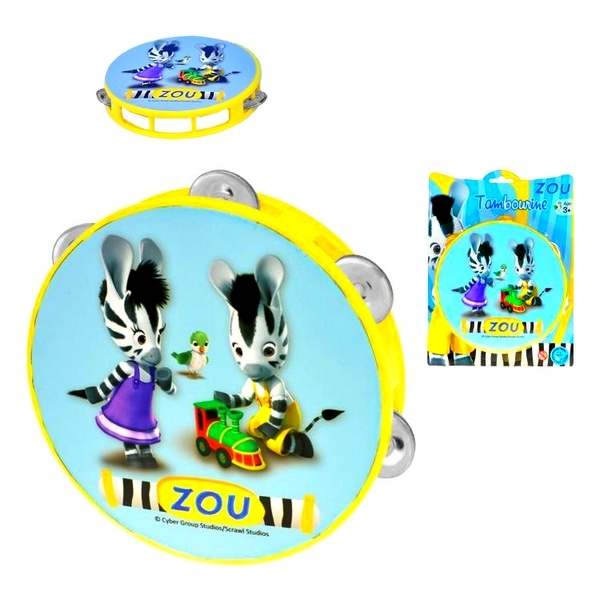 Tamburína Zebra ZOU