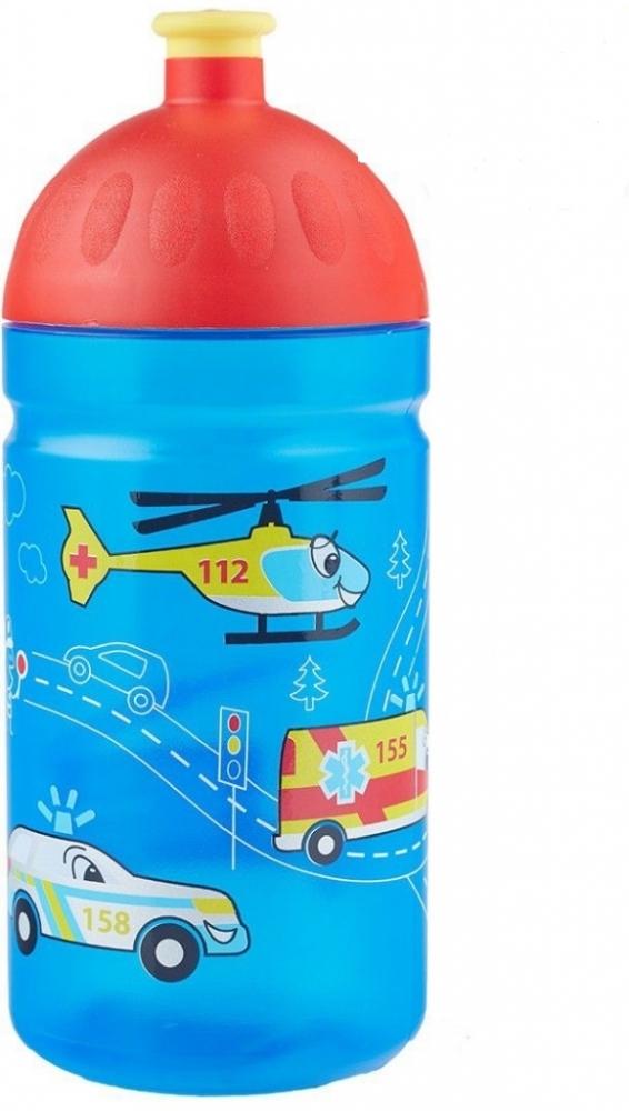 Zdravá láhev - 0.5l - Záchranáři, modrá