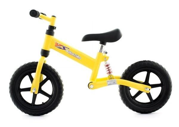 Dětské odrážedlo-kolo - žluté